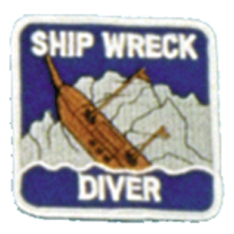 Wreck Diver Patch