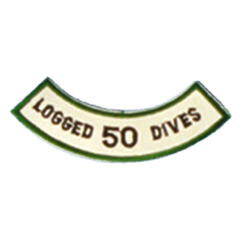 Logged 50 Dives Patch