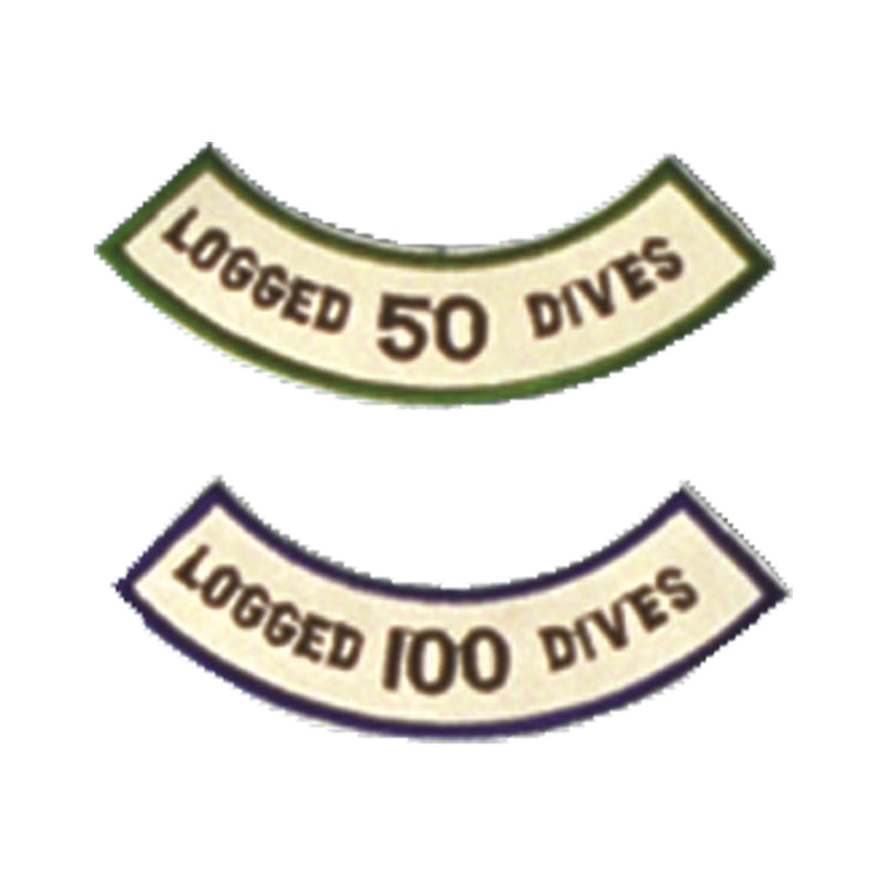 Logged 100 Dives Patch