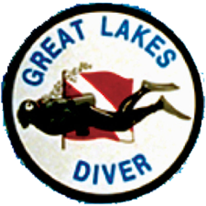 Round Great Lakes Sticker