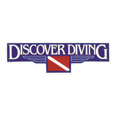 Discover Diving Sticker