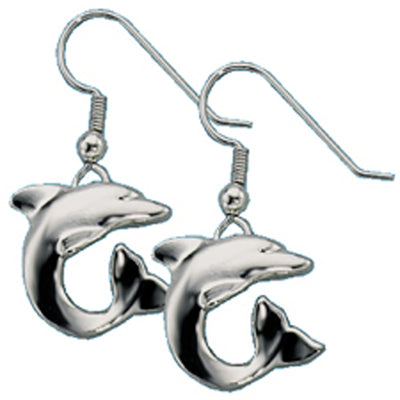 Stainless Steel  Dolphin Earrings