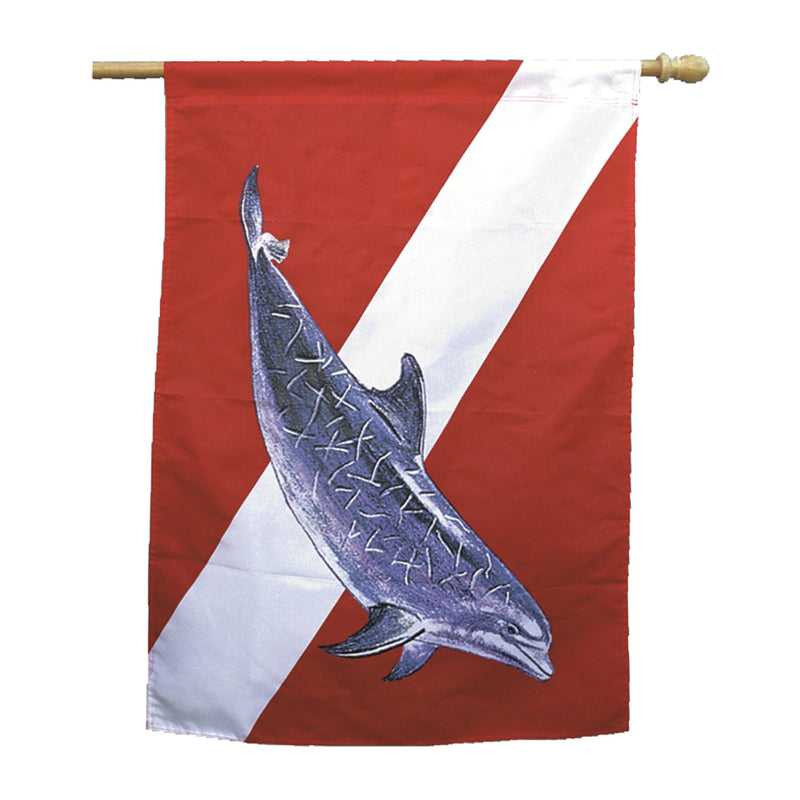 Dolphin House Flag Banner