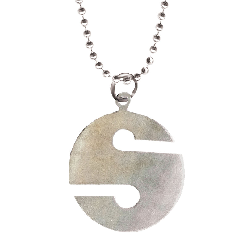 Stainless Steel Line Marker Necklace