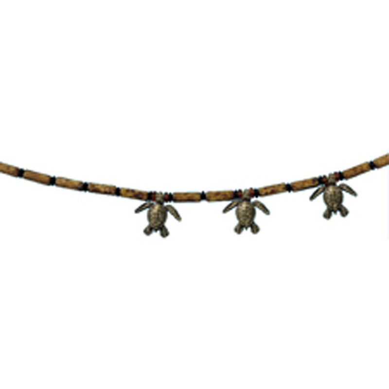 3 Turtles Beaded Necklace