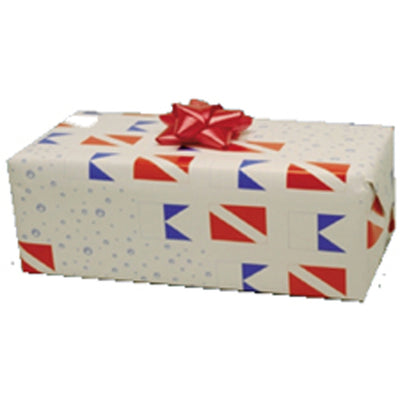 Diveflag Wrapping Paper
