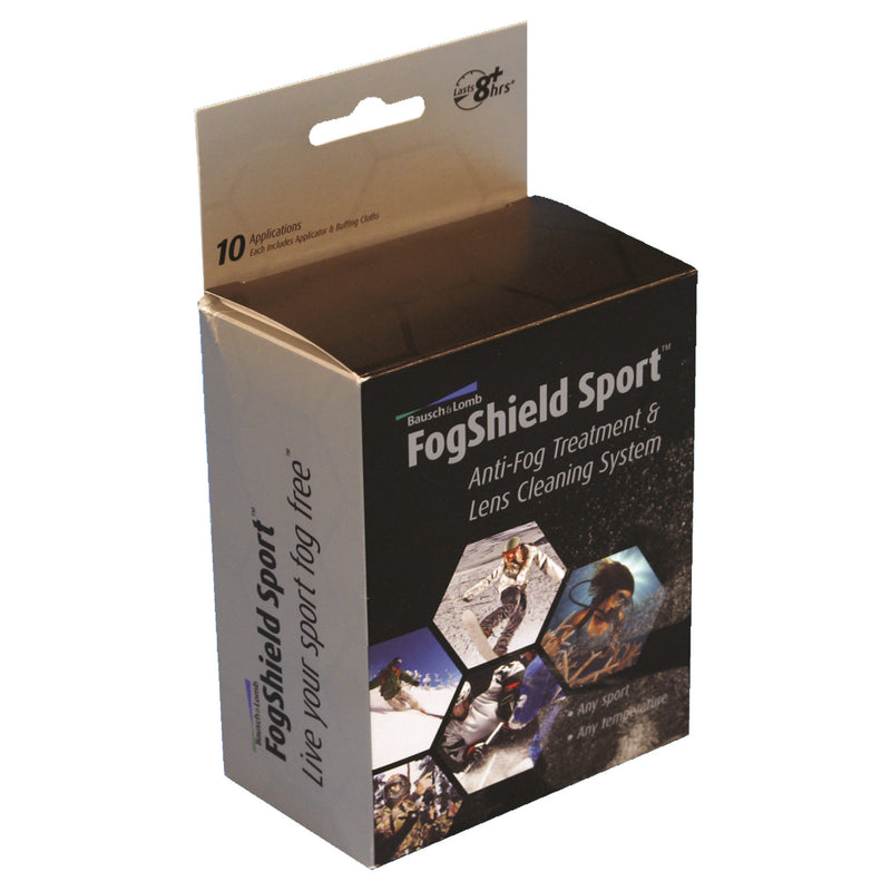 Fog Shield Anti-Fog 10Pk Single Use