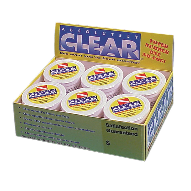 Absolutely Clear Display Pack 12 Pc