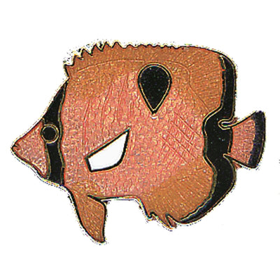 Teardrop Fish Pin