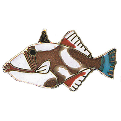 Triggerfish Pin
