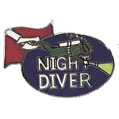 Night Diver Pin