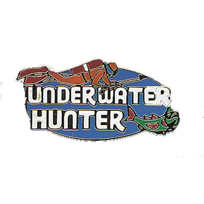 Underwater Hunter Pin