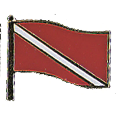 Medium Dive Flag Pin