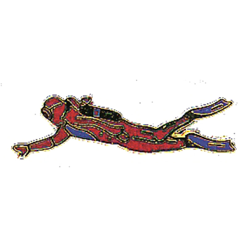 Swimming Diver Pin
