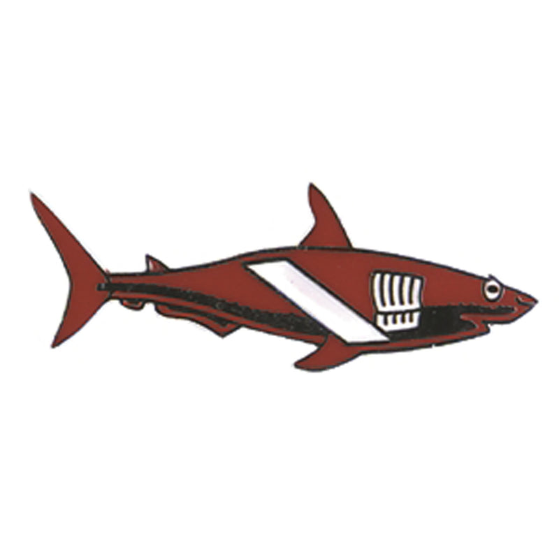 Dive Flag Shark Pin