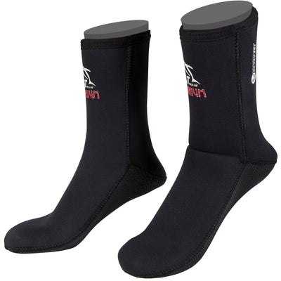 7mm Superstretch High Cut Socks for Cold Water Diving