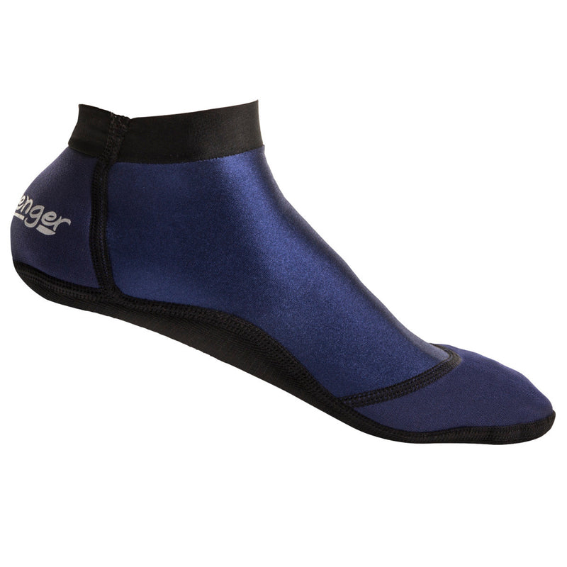 short dark blue beach socks