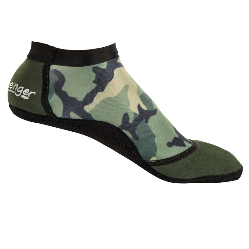 short camouflage beach socks