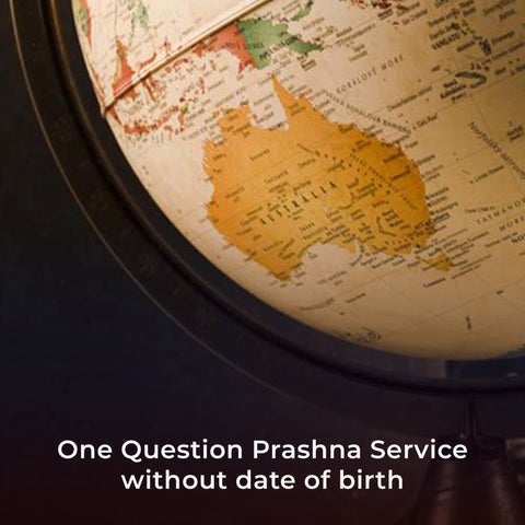 One Question Prashna Service without Date of Birth
