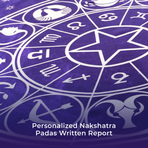 Personalized Nakshatra Padas Written Report