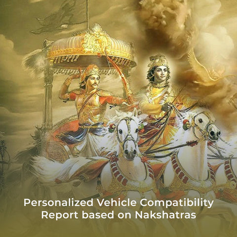 Personalized Vehicle Compatibility Report based on Nakshatras