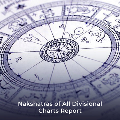 Nakshatras of All Divisional Charts Report