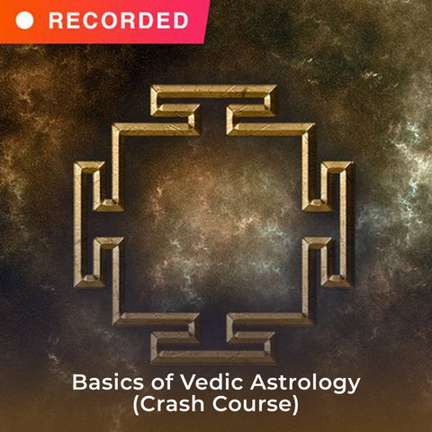 Basics of Vedic Astrology (Crash Course)