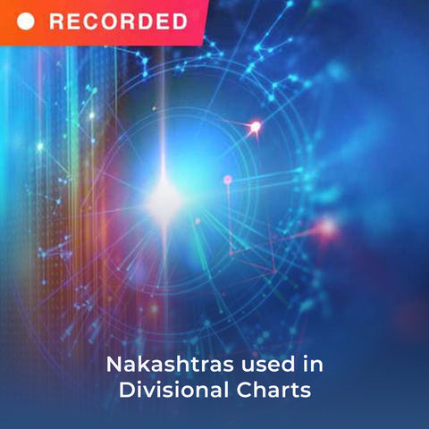 Nakashtras used in Divisional Charts