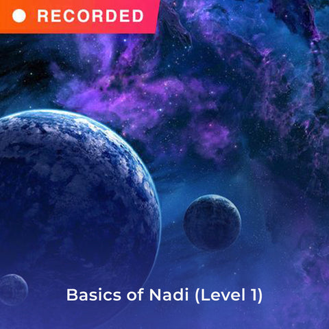 Basics of Nadi (Level 1)