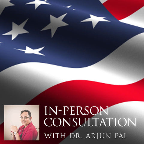 In-Person Consultation with Dr. Arjun Pai - New Jersey, New York or Sedona, Arizona