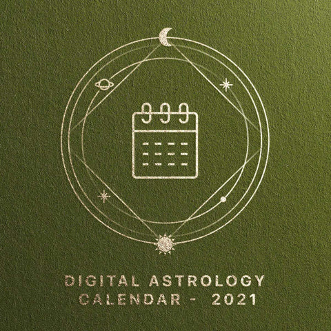 Digital Astrology Calendar - 2021