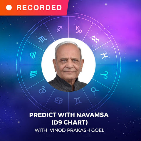 Predict with Navamsa (D9 chart) with V.P.Goel
