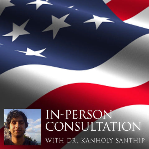In-Person Consultation with Dr. Santhip Kanholy - New Jersey, New York or Sedona, Arizona