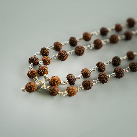 Limited Edition Rudraksha Japa Mala from Kashi
