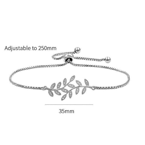 Cubic Zirconia Tennis Bracelet & Bangle, jewelry - powermovz