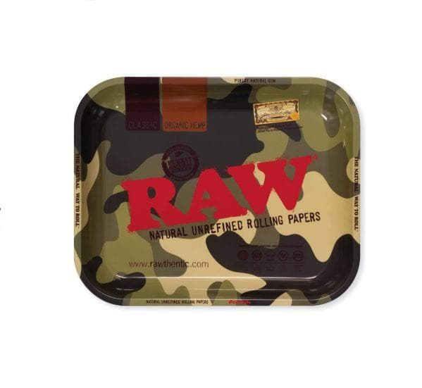 RAW Camouflage Large Metal Rolling Tray.