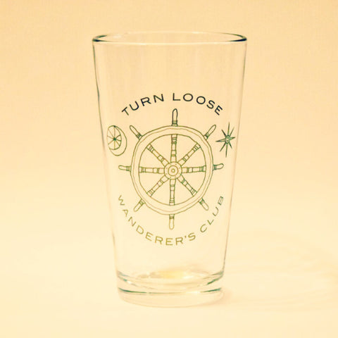 Wanderer's Club Pint Glass
