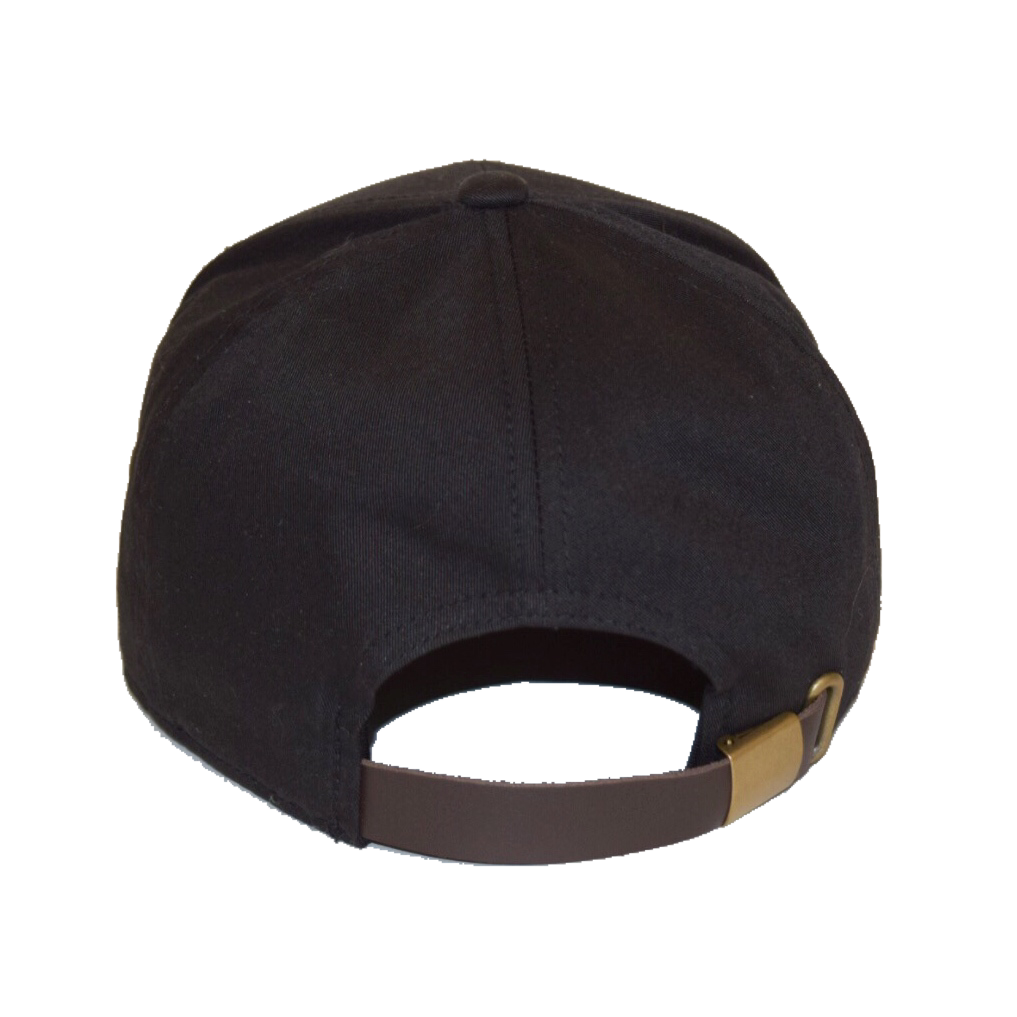 7-Panel Camp Hat - Black/Gold