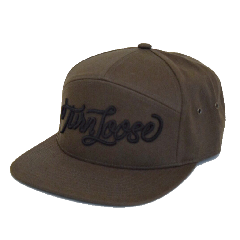7-Panel Camp Hat - Dark Loden