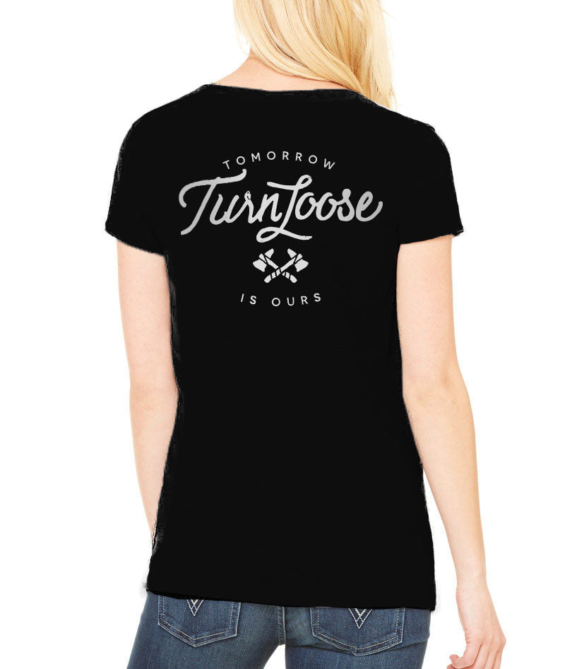 Turn Loose V-neck