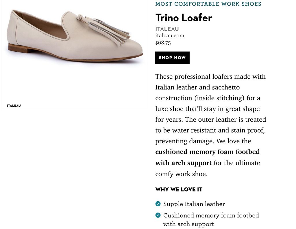 Good Housekeeping - Most comfortable shoes