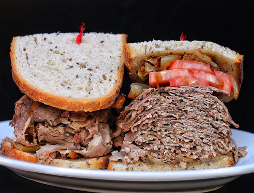 Brisket Sandwich Kit for  6 to 8