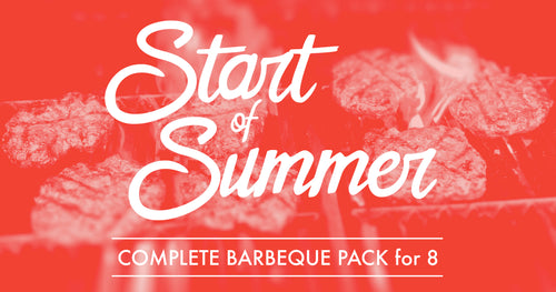 Sarge's Start of Summer Complete Barbecue Pack for 8