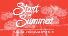 "Sarge's Complete Barbecue Pack for 8 ""Delivered to you from us with lots of love !!"""