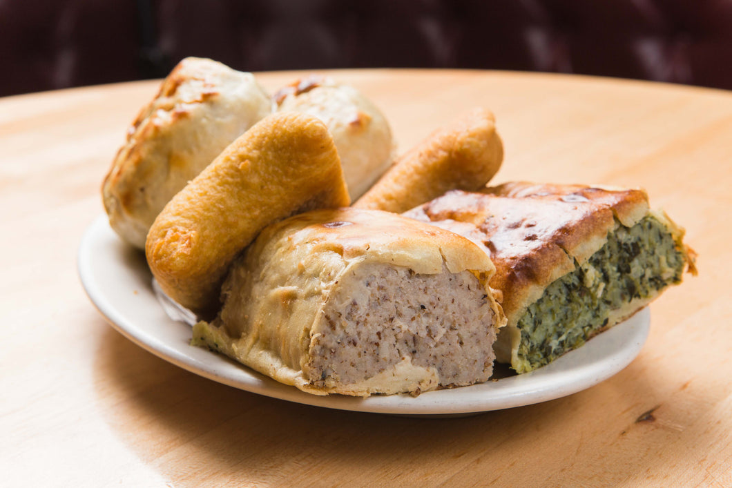 Knish 4 Pack Sarge S Delicatessen Diner