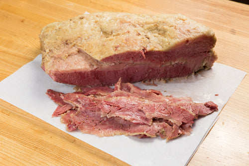 Corned Beef (3 Pounds. Sliced)  House Cured