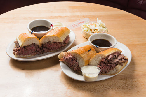 French Dip for 4