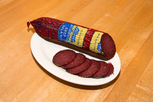 Hard Salami (1 Pound Minimum) Sliced or Un-Sliced