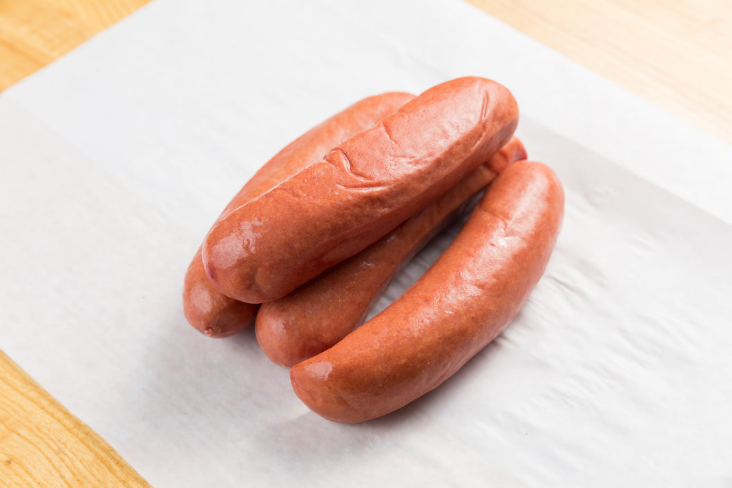 Knockwurst  (Specials) 1 lb. All Beef Kosher)  Natural Casing (Approx: 4 per pound)