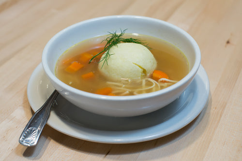 Matzo Ball Soup (Feeds 2)